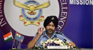 वायुसेना प्रमुख मार्शल बी एस धनोआ