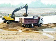 अवैध रेत खनन के विरुद्ध खनिज विभाग की व्यापक कार्रवाई