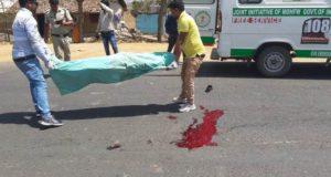 मनेंद्रगढ़ में सड़क हादसा, अज्ञात वाहन की ठोकर से बाइक सवार युवक की मौत