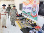 भोरमदेव अभ्यारण में पुलिस नक्सली मुठभेड़, भारी मात्रा में दैनिक उपयोग का सामान बरामद
