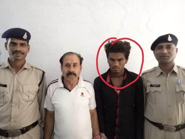 करने वाला युवक गिरफ्तार, पॉक्सो एक्ट के तहत की जा रही कार्यवाही