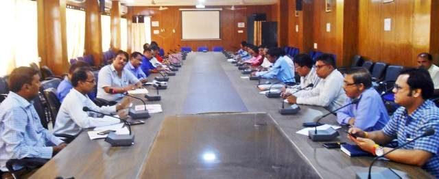 निर्वाचन व्यय मॉनिटरिंग के संबंध में बैठक आयोजित