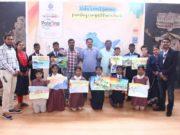 नक्सल प्रभावित क्षेत्र के बच्चों ने चित्रकला प्रतियोगिता में फिर रोशन किया विद्यालय का नाम