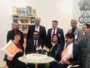 लंदन पुस्तक मेले में भारतीय मंडप का उद्घाटन