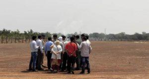 भारतीय वायु सेना के विंग कमांडर ने मोदी की सभास्थल