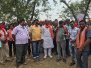 भाजपा के चुनावी जनसंपर्क ने पकड़ा जोर, केंद्र में मोदी की सरकार दोबारा बनाने महिलाएं भी डटकर जुटी मैदान में