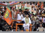 राजधानी में आज भाजपा का मेगा रोड शो, शामिल होगें प्रदेश के सभी बड़े नेता