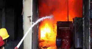फायर वर्क फैक्ट्री में लगी आग, चार महिलाएं गंभीर रूप से झुलसी