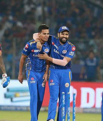 मुंबई इंडियंस ने दिल्ली कैपिटल्स को 40 रनों से करारी मात दी है