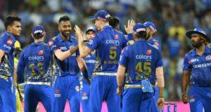 आईपीएल 12 में मुंबई इंडियंस ने जीत का शतक लगाया