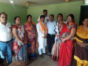 भाजपा शक्ति नगर मंडल के जनसंपर्क कार्यक्रम में लोगों में दिखा भारी उत्साह
