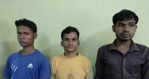 कटेकल्याण थाना क्षेत्र से 03 जनमिलिशिया सदस्य गिरफ्तार