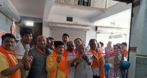 डॉ. खिलावन साहू ने शक्ति विधानसभा क्षेत्र के भाजपा चुनाव कार्यालय का शुभारंभ किया