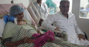 मुख्यमंत्री भूपेश बघेल के मां का हालत अभी भी नाजुक