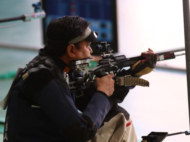 शूटिंग में राजपूत
