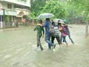 भारी बारिश
