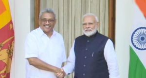 श्रीलंकाई राष्ट्रपति गौतबाया