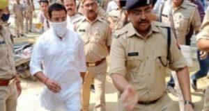 आशीष मिश्रा गिरफ्तार